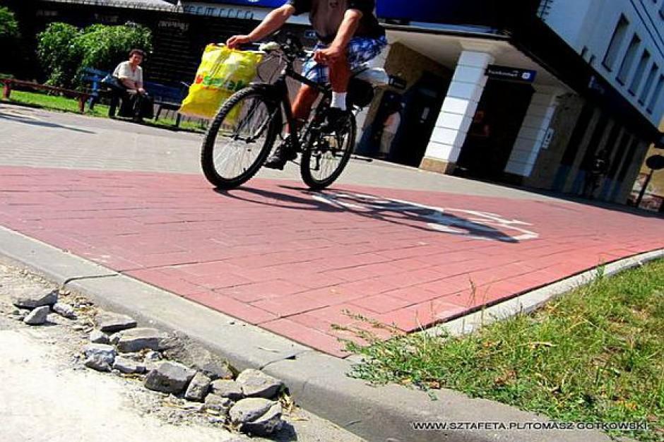 Poprawili rowerową ścieżkę