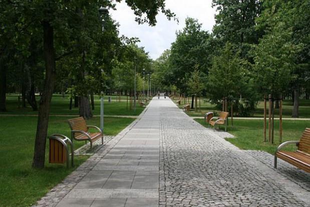 Park Zdrojowy w Konstancinie skończony