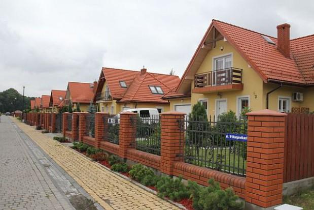 Miasto pomaga w budowie domków jednorodzinnych