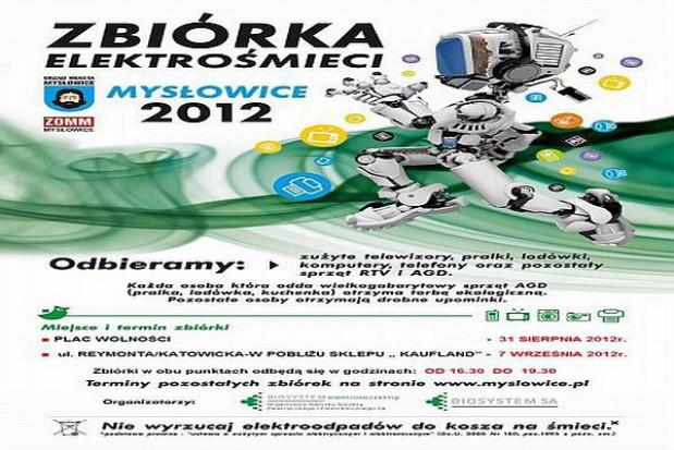 Zbiórka elektrośmieci w Mysłowicach