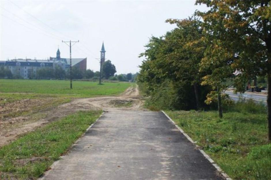 Coraz więcej ścieżek rowerowych w Lesznie