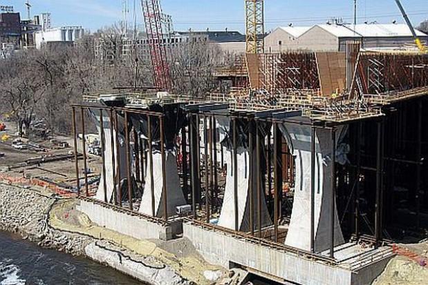 Powstaje most na rzece Wieprzówce