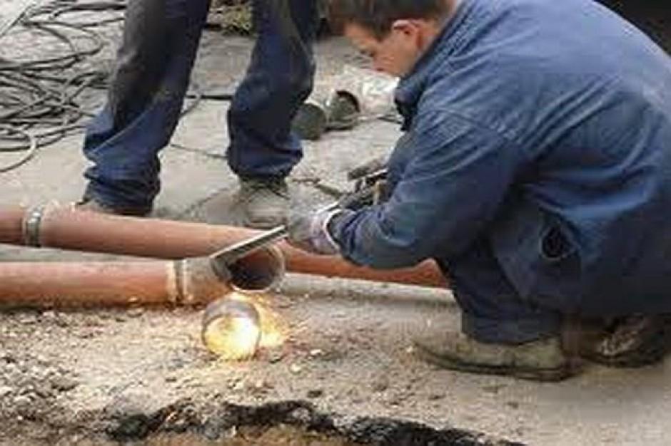 W Biskupcu rozszczelniła się rura gazowa