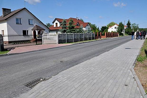 Wyremontowali zniszczoną przez powódź drogę w Toruniu