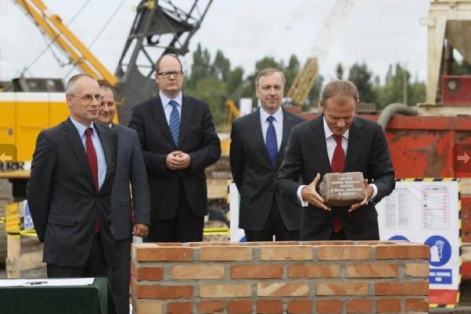 Kamień węgielny pod budowę gdańskiego muzeum