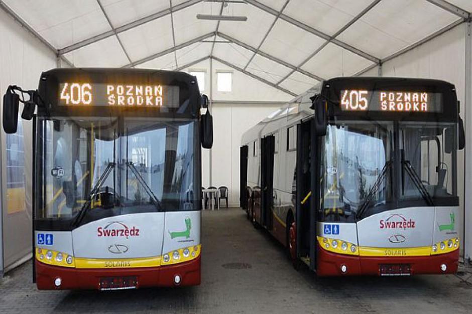 Mniej autobusów w Swarzędzu