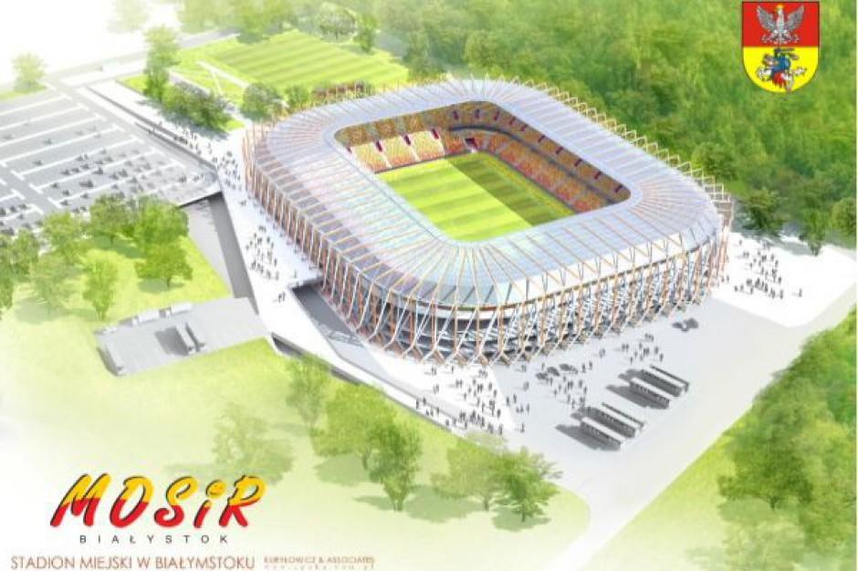 Opóźnienia z budową stadionu w Białymstoku