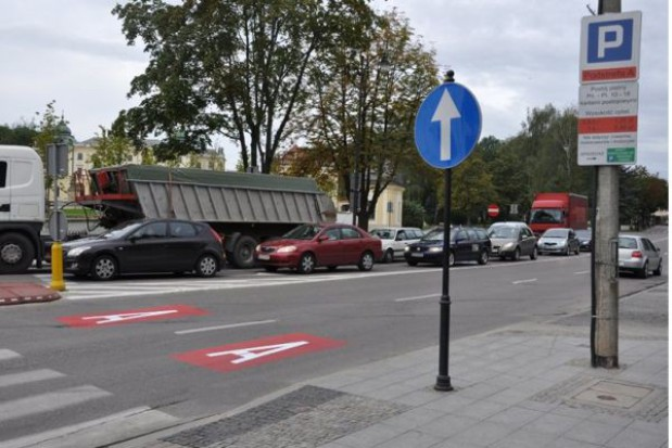 Jaki prostokąt, tyle za parkowanie