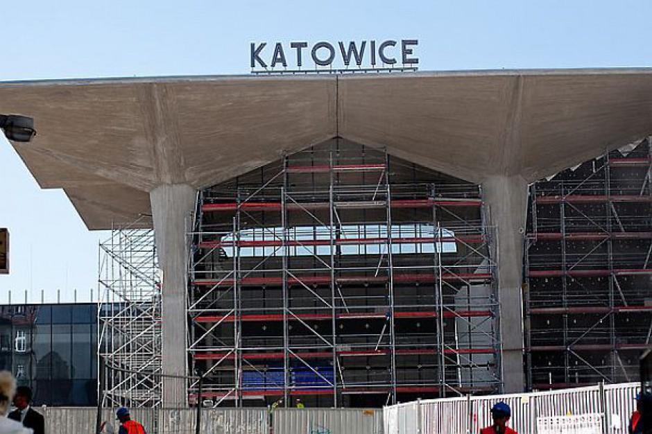 Otwarcie dworca w Katowicach 30 października