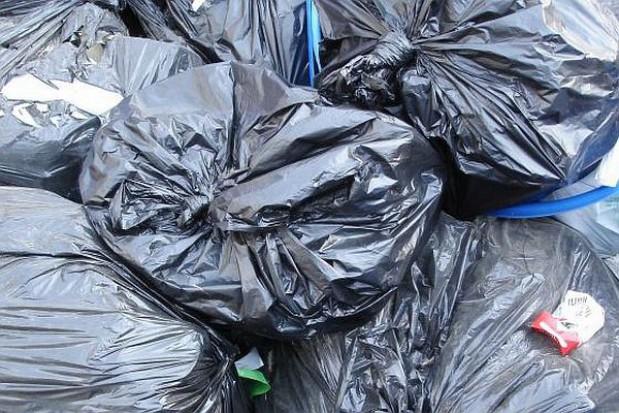 Worek na śmieci zamiast pasażera