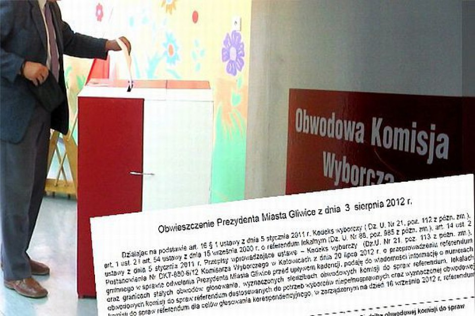W Gliwicach cisza wyborcza