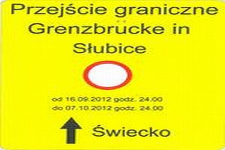 Samochody nie przejadą przez most w Słubicach