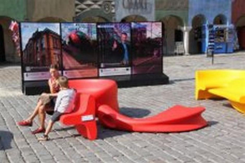 Miejskie meble za unijne inwestycje