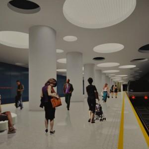 Metro Moczydło - wizualizacja 2