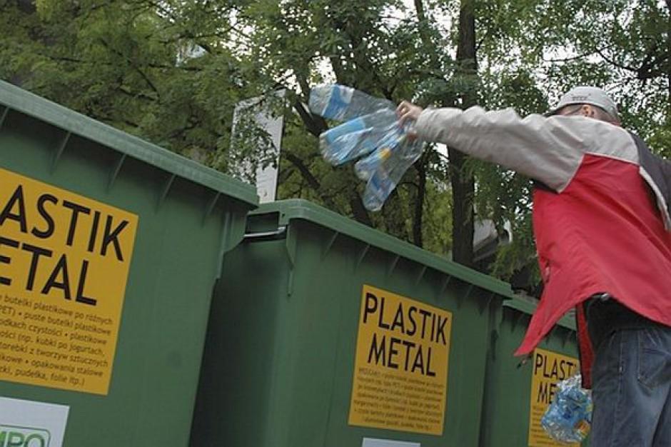Przygotowania do odbioru śmieci