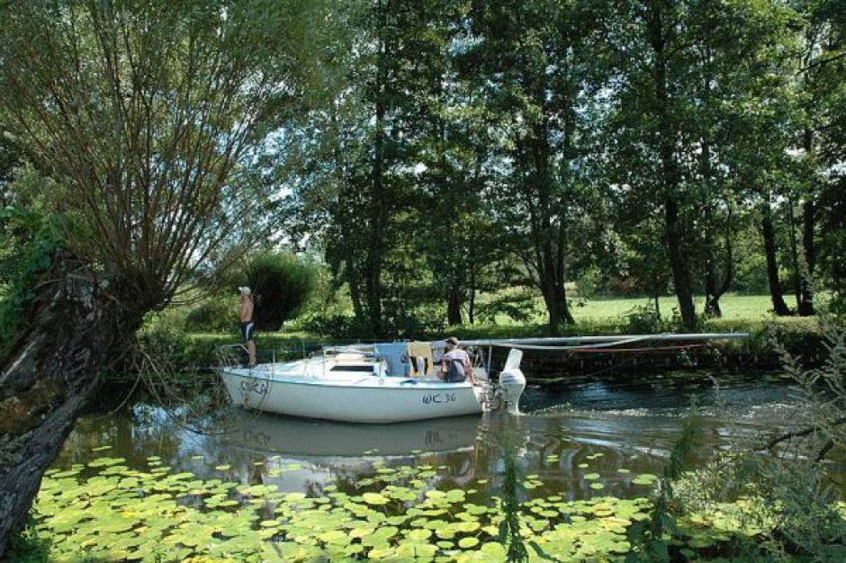 Trasy na Kanale Elbląskim niedostępne dla turystów