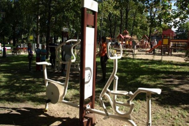 Po muskuły do miejskiego parku