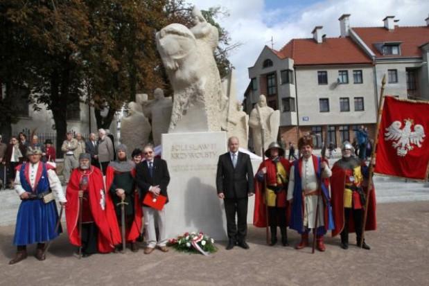 Pomnik Bolesława III Krzywoustego stanął w Płocku