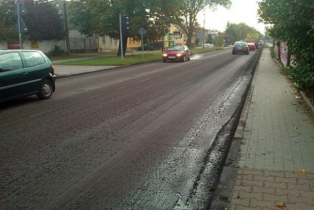 Remont ulicy Weleckiej w Mierzynie