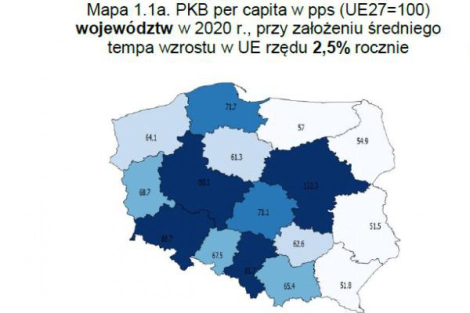 Ze stolicami czy bez, regiony coraz bogatsze