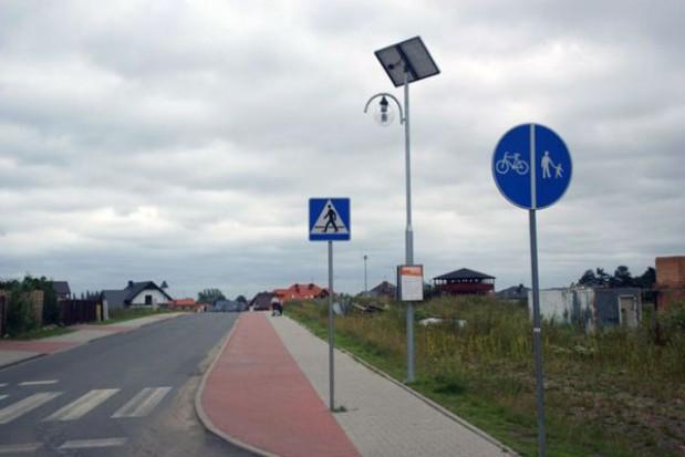 W Szczecinie na Żyznej staną lampy solarne