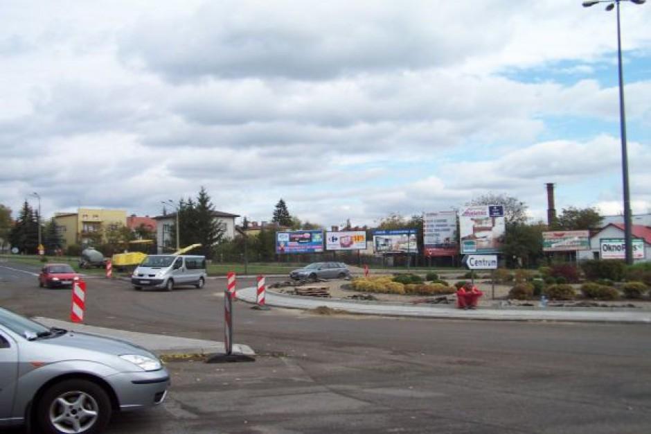 Remont chełmskiego ronda skończy się przed 1 listopada