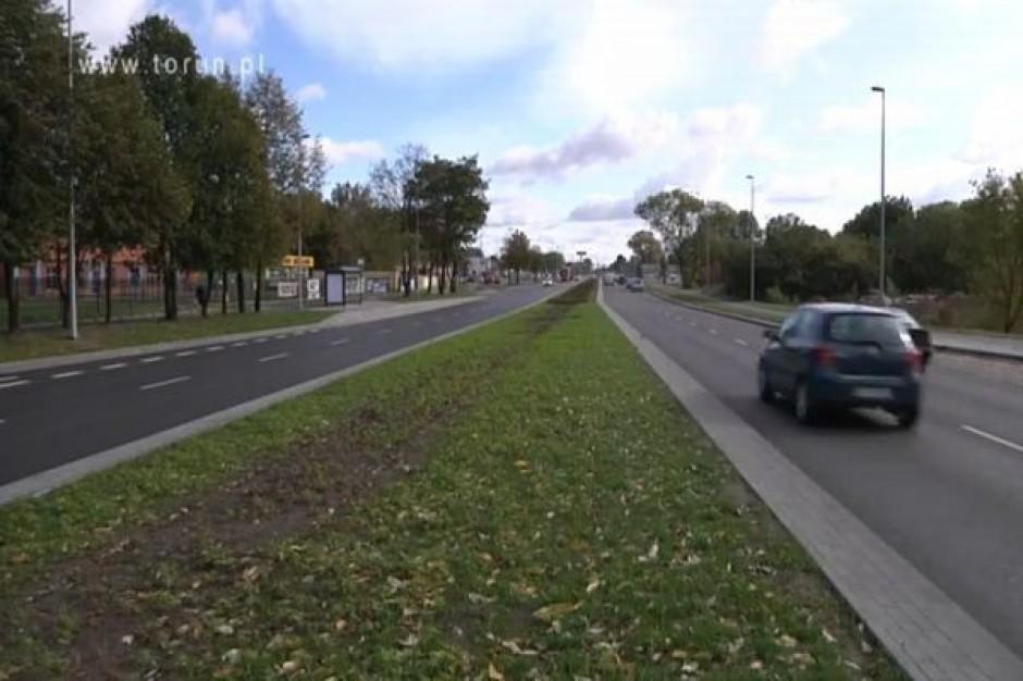 Toruńska ulica po modernizacji