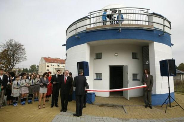 Otwarto astrobazę w Unisławiu