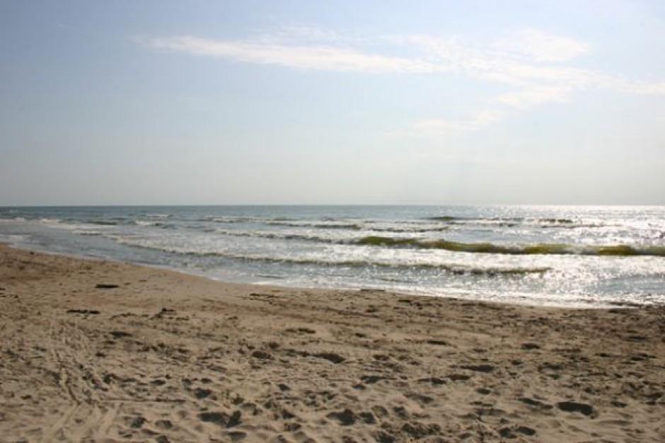 Prace przy umacnianiu plaży w Kołobrzegu ukończone