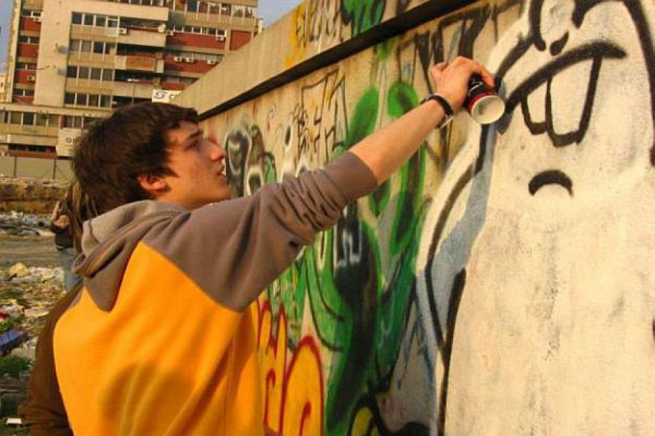 Młodzież w Świdnicy potępia wandalizm grafficiarski