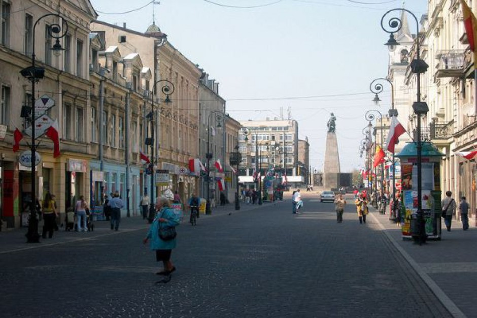 Reprezentacyjna ulica Łodzi do przebudowy