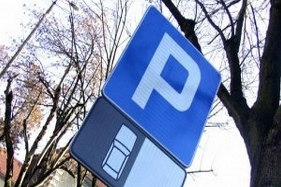 Parking na przykrytej rzeczce