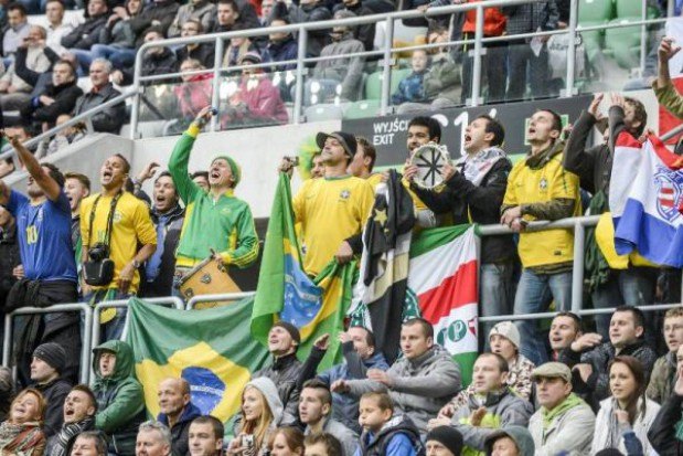 Na tym meczu Wrocław stracił 800 tys. zł