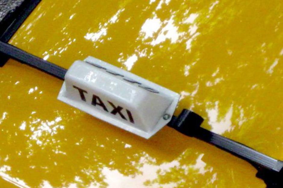 Zielonogórskie taksówki jeżdżą na łysych oponach