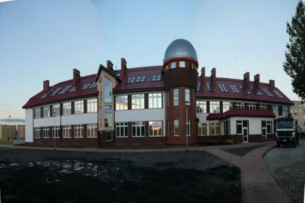 Otwarcie nowego budynku gimnazjum w Przecławiu