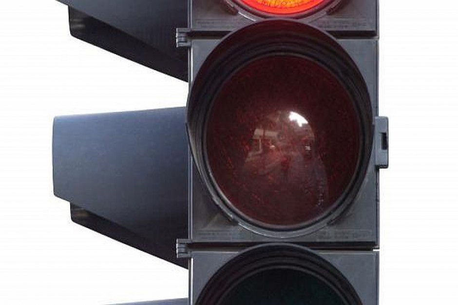 Remont sygnalizacji świetlnej w stolicy