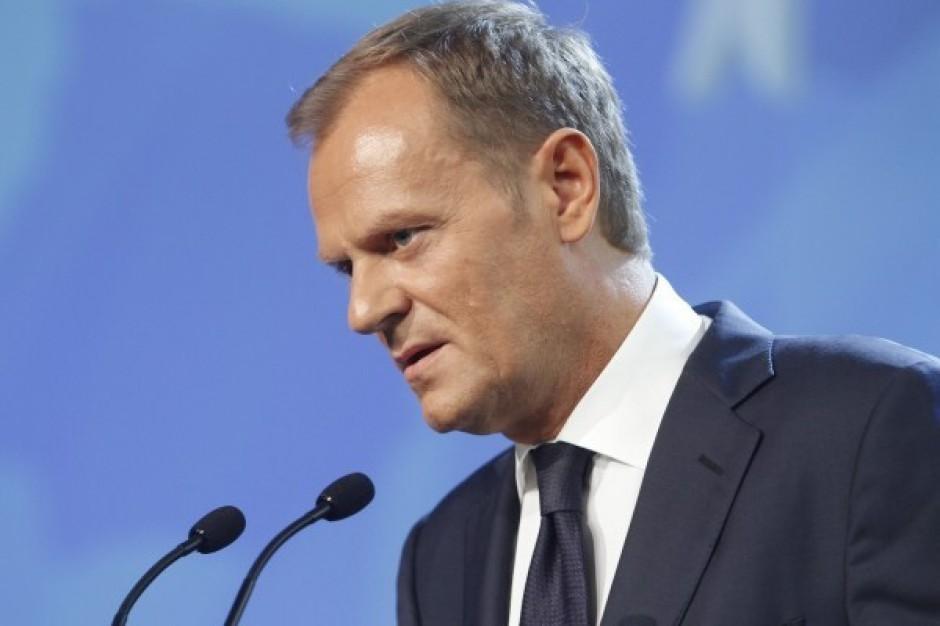 Tusk: budujemy najwięcej w Europie