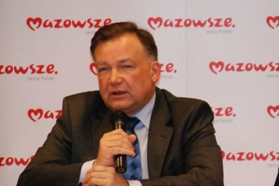 Trudny rok dla Mazowsza, ale inwestycje będą