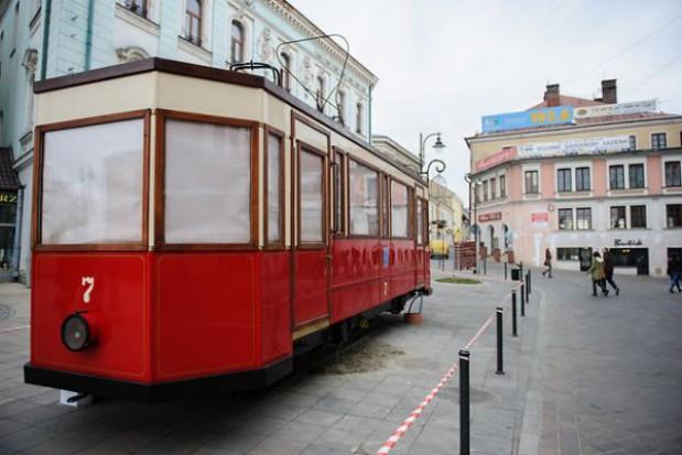 Replika tramwaju stanęła w Tarnowie