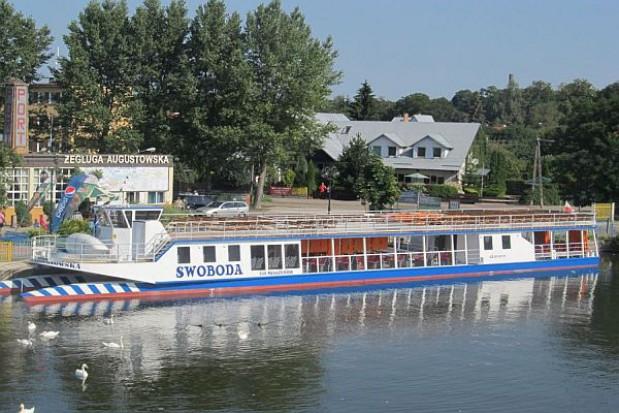 Mniej pasażerów Żeglugi Augustowskiej