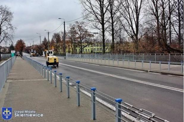 Skierniewice cieszą się z nowego mostu
