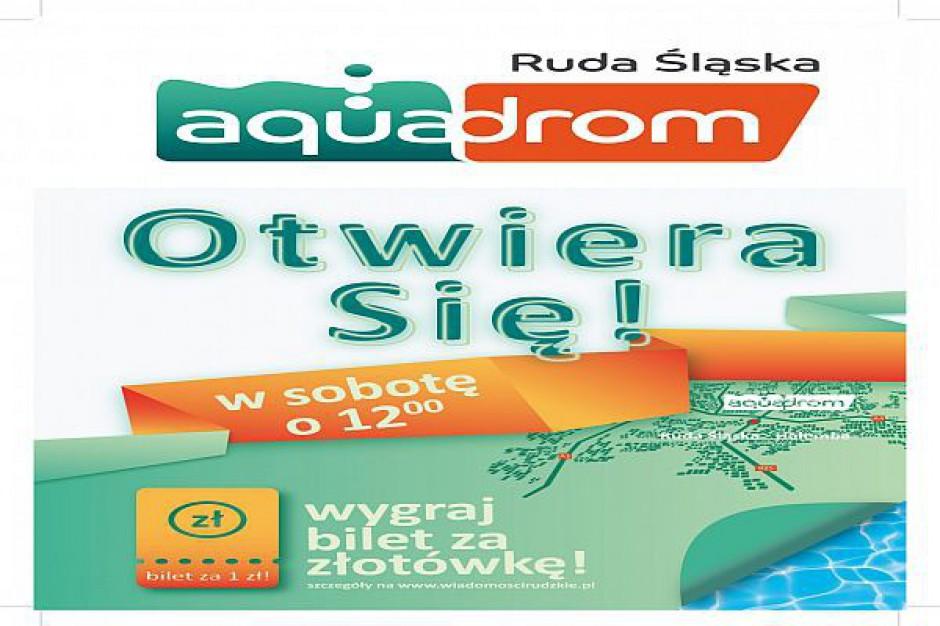 Otwarcie aquaparku w Rudzie Śląskiej