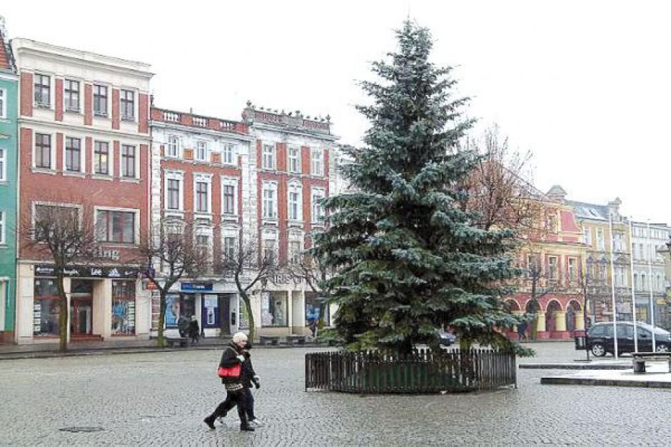 Ozdoby świąteczne w Lesznie od radnej