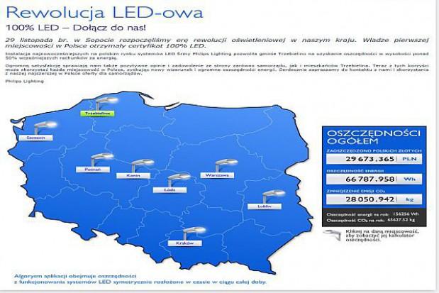 Systemy LED podbijają polskie ulice