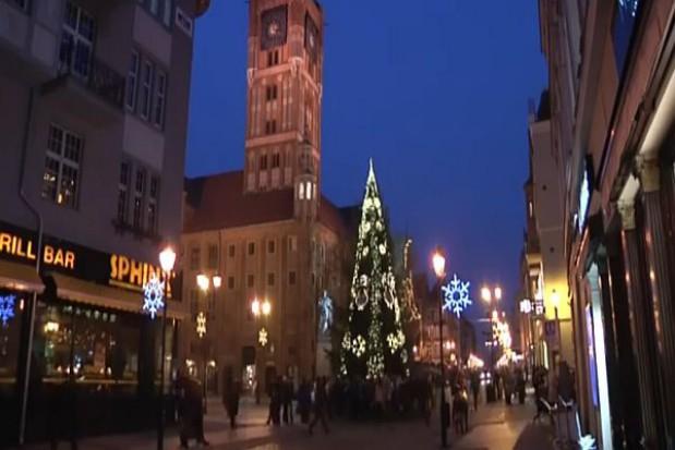 Miasta oszczędzają na świątecznej iluminacji