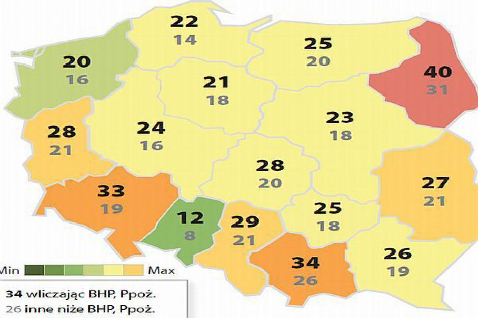 Regiony z ambitnym kapitałem ludzkim