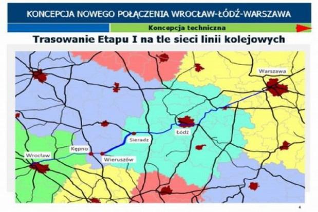 Z Wrocławia do Łodzi koleją w 2 godziny?