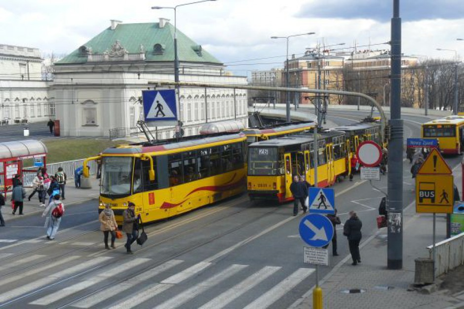 Tramwajowa granda w stolicy