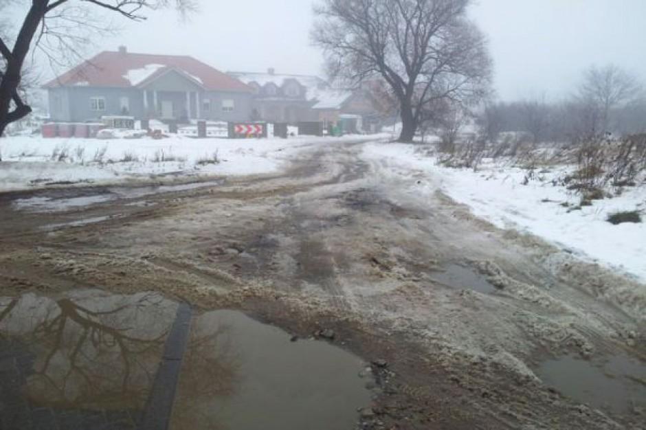 Remont ulicy Zgodnej w Mierzynie