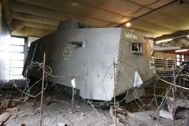 Odtworzą niemiecki czołg z I wojny światowej